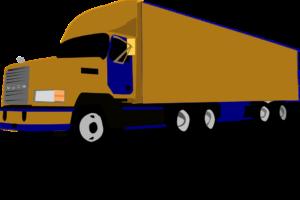 An illustration of an 18-wheeler truck.