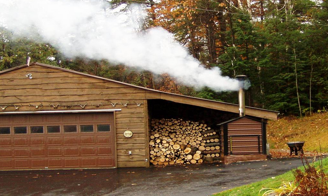 Water Control Sensors For Outdoor Wood, How An Outdoor Wood Burning Stove Works