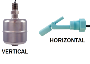 A comparison of vertical and horizontal float switches